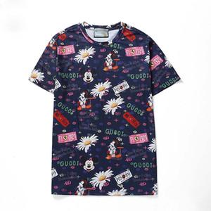 2020New arrivée concepteur Hommes T-shirts à manches courtes t-shirts T-shirt mélange de coton pour l'été Marque de mode T-shirt avec broderie Lettre