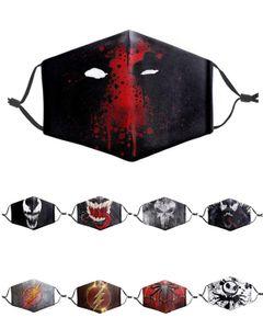 Eroe Venom Cosplay maschera Avenger Super Hero partito costumi a tema per adulti Copricapo degli accessori del costume di Halloween Marvel Super