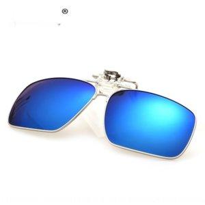 clip de nVfJc 2019 nuevo sol y gafas de sol de Glassesmen enmarcadas de color polarizado gafas de sol de las mujeres de clip cuadrados upturned