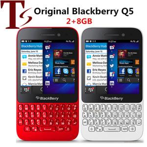 Desbloqueado Blackberry Q5 Mobile Phone 5.0MP Camera Dual-core de 2 GB RAM de 8GB ROM celular Q5 Original