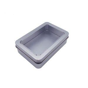 10.7 * 7 * 3см Open Window Шкафы металлические для хранения, жестяные коробки стали дисплей упаковка может Бесплатная доставка AHA911