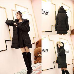 Famosa Moda Invierno Parkas invierno Mujer de Down Canadá Chaqueta Ropa color de la capa Abrigo Mujer Chaqueta Parka