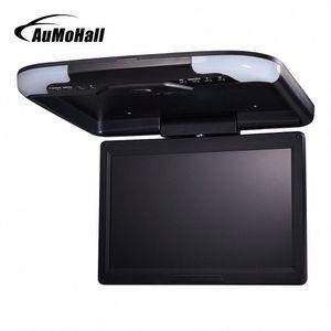 """AuMoHall 13"""" inç Araç Monitör LED Dijital Ekran Araç Çatı Monitör Tavan Monitor Flip Aşağı xkDe # Monteli"""
