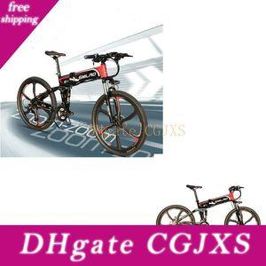 S11ytl haga oído montaña de la bicicleta plegable 350w Electric Bike 5 turnos Sistema de Control Inteligente