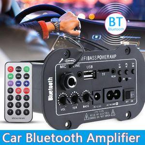 12V 24V 220V Bluetooth 5,0 High Power Board Digital Stereo AMP Amplificador Аудио Домашний кинотеатр AMP MIC SD USB DVD