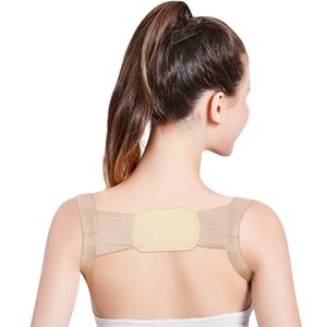 Dropshipping Back Posture Corrector Therapy Corset Spine Support Belt Lumbar Back Posture Correction Bandage For Men Women