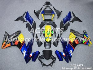 ACE Motorcycle Fairings For SUZUKI GSX250R 2017 Compression or Injection Bodywork Blue No.542