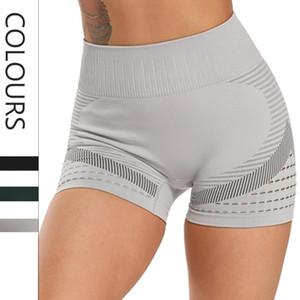 CROSS1946 Seamless Gym Shorts Frauen High Waist Wicking Jogginghose Fitness Laufen Aktiv Shorts Trainings-Kleidung für Frauen