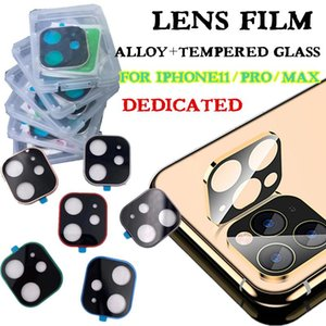 Cgjxscamera Film Tempered Glass For Iphone 11 Pro Max Alloy Metal Lens Film Screen Protector For Iphone 11 9h Back Hard Protective Glass