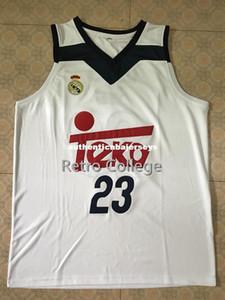 # 23 سيرجيو لول Camiseta Canotta Trikot كرة السلة جيرسي جميع حجم التطريز مخيط تخصيص أي اسم واسم XS-6XL سترة الفانيلة