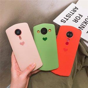 Modelos pouco corações do amor Meitu T9 Mobile Phone Shell T8s fêmeas Meitu T8 Limited Edition M8 Silicone Drop-Resistant M8S All Soft Case Bisel