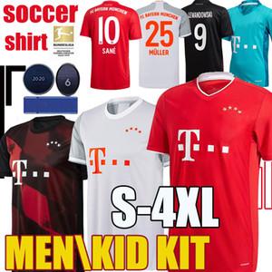 20 21 SANE Lewandowski COMAN Bayern Munich Gnabry camiseta de fútbol 2020 2021 Camiseta de fútbol NIANZOU MUNCHEN uniforme 120o Aniversario S-4XL