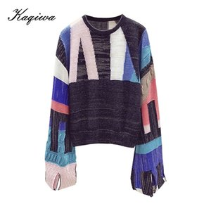 Star same style and all-around temperament knitwear women's new 2021 spring women's loose sweater coat B-100 0927
