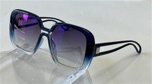 تصميم الأزياء الجديدة نظارات شمس 7016-الصورة الكلاسيكية بسيطة الكبير إطار مربع لون جديد التدرج مختلط عدسة سلسلة لون أعلى جودة UV400