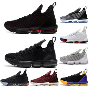 with free socks 16s equality basketball shoes for men james sneakers watch the throne king oreo new-le&bron 16 high quality eur 40-46