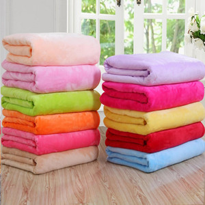Miniature super-caldo, tappeto di velluto solido e caldo, moquette, divano letto, pianura, semplice coperta di velluto, corallo coperta di flanella