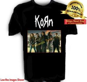 Korn Band Tişörtlü S - 6x Uzun Boyutları