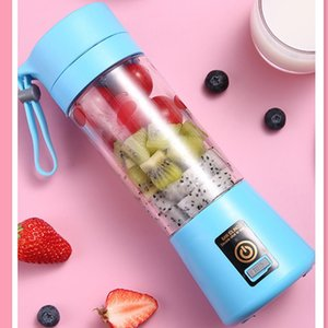 Low Power Consumption Portable Blender Mini Juice Extractor Battery USB Charging Home Juicer Bottle 2020 Hot Sale Easy To Use