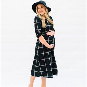 Women Pregnant Sexy Photography Props Casual Nursing Boho Chic Tie Dress Brand New maternity dresses Fashion August 13