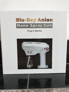 Los más vendidos de mano inalámbrico nano eléctrica atomización desinfección 10W pistola de pulverización de 250 ml blue ray potente desinfectante máquina de aerosol