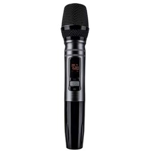 1Pcs Set Ux2 Uhf Auto Wireless Dynamic Microphone System With Receiver For Mixer Speaker Desktop Bus o