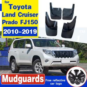 Автомобиль Mudflap для Toyota LAND CRUISER PRADO FJ150 2010-2019 Fender Mud Guard лепестковых Всплески закрылки Брызговики аксессуары 2015 2016