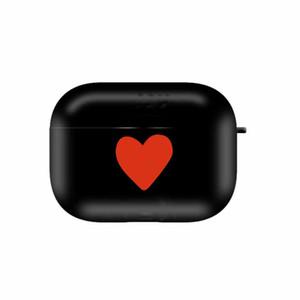 Aripods برو حالة سماعات بلوتوث Aripods 1/2 كم واقية الأزياء رسالة على شكل قلب نمط Headpset صندوق تخزين 3 أنماط
