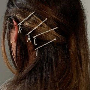lettre créative de la mode des cheveux ins 26 accessoires Anglais lettre en épingle à cheveux clip de femmes coréennes femmes créatives cheveux anglais accessoires GHmz3