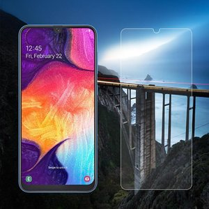 Cgjxsmobile Phone Tempered Glass For Samsung M10 M20 M30 Screen Protector 2 .5d 9h High Clear Glass Protector