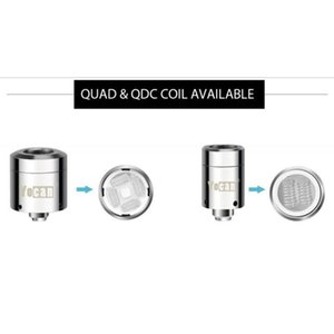 Yocan Loaded Coils With Dual and Quad Quartz Replacement Coil With magnetic Base Wax Vape For Yocan Loaded Starter Kits 100% Authentic