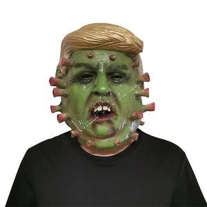 Président américain M.Donald Trump Latex Masque Designer Masques facial Costume Party Halloween Overhead Masque Skull Trump caractère Masque DHL D81706