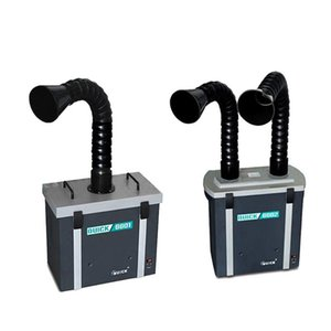 QUICK 6601/6602 Umweltschutz Rauch Purifier Rauchen Instrument Single / Dual Position Purification System Smoke