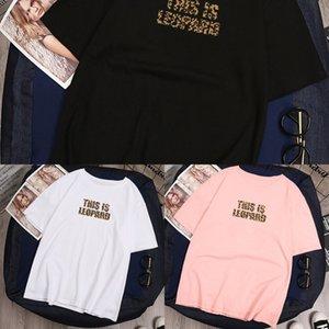 0JI9q vêtements pour femmes 2019 été nouveau style coréen à manches courtes blanc étudiant supérieur vêtements imprimés en vrac Top Coat T-shirt haut T-sh Femmes