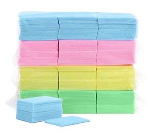 1000pcs Bag Nail Polish Remover Wipes Lavagem Lint Pad gratuito Papel Soak Off Remover Ferramenta de Manicure