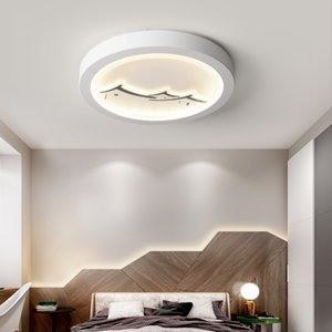 Living room round ceiling lamps simple modern study lamp balcony corridor lamp kids room lighting ceiling lamp lights children