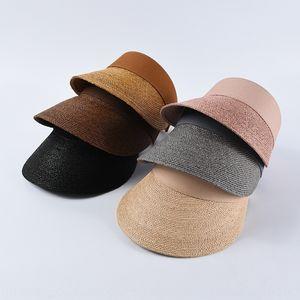 Lafite Stroh Straw fake fake Hutstrand Urlaub Hut zl8Xw Sommer leer-Top Kinder INS trendigen Mode Allgleiches