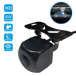 utomobiles Мотоциклы New Рыбий глаз сзади автомобиля / Вид спереди камеры HD Starlight ночного видения камера заднего Set 170 градусов Автомобиль Par ...