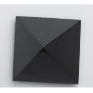 HJT Decoration 178g 5,6 centimetri Obsidian all'ingrosso Nunatak nero guarigione Reiki quarzo piramide di cristallo naturale homeindustry BaRwg