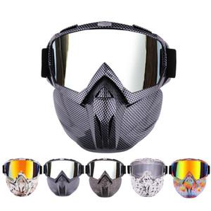 gafas de esquí gafas casco de motocross nieve al aire libre gafas de máscara a prueba de viento más snowboard montar los vidrios del estilo