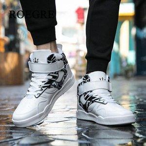 Zapatos de los hombres zapatillas de deporte zapatos de Justin Bieber famoso Super Stars Hombres de Hip Hop Street Dance informal del club del partido Botas Zapatilla Daka #