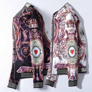 2019 Autumn & Winter luxury designer long sleeve Medusa Jacket Coats, Men Causal Hooded Outdoor Jacket,Men Thin Windbreaker Zipper Coats Out
