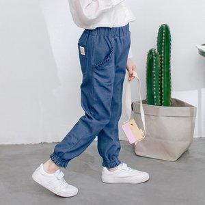 jeans 2020 printemps nouveau style coréen lâche serré radis et navets Jeans moyennes pantalon de radis et de grands enfants sarouel enfant pantalon de ZEMjw filles