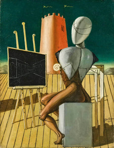 Giorgio De Chirico The Vaticinatore Home Decor Handpainted &HD Print Oil Painting On Canvas Wall Art Canvas Pictures A571