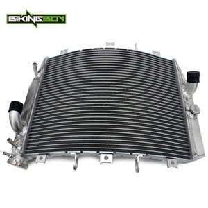 Para BIKINGBOY ZX6R ZX6R 1998 1999 98 99 22 mm de aluminio Núcleos de agua refrigerante del motor Enfriador del radiador EAFS #