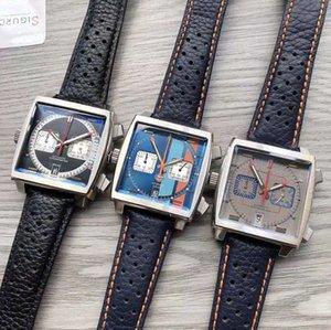 tag heuer 2020 Nuevo color 10 Monaco 24 calibre 39 reloj TAG cuadrados de diseño mecánico automático de los deportes populares CAW reloj de los hombres reloj de pulsera