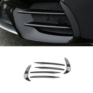 Accessoires voiture pare-chocs avant habillages latéraux Spoiler Sticker Splitter Canards Couverture Châssis pour Mercedes-Benz Classe E W213 2016-2020