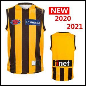 Las ventas calientes 2020 2021 AFL camiseta de Liga singlete Carlton Blues Adelaide Crows Collingwood Richmond Tigers Hawthorn Hawks jerseys