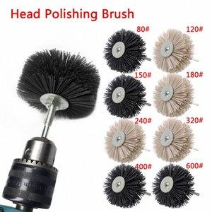 Nylon Wheel Brush 1pc Абразивный Проволока Шлифование головки цветка Абразивный деревообрабатывающий Полировка Кисть Bench Grinder Для Деревянная мебель C23h #