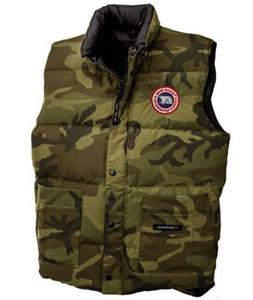Quente Designer Designer Jacket Men Estilo canadense novo luxo para baixo ganso Vest Jacket do Vest homens e na Mulheres Homens de Down Inverno de alta qualidade Vest