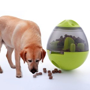 Feeding Pet Leakage Toys Puppy Bite Fun Dog IQ Interactive Dog Game Tumbler Food Tool Bowl Pets Supplies Ball Toy Vtwor